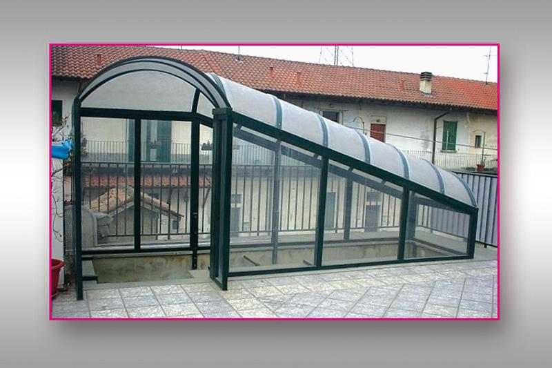 Copertura scale esterne affordable la copertura di una - Coperture per scale esterne ...